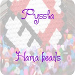 Broches realizadas con Pyssla y Hama Beads