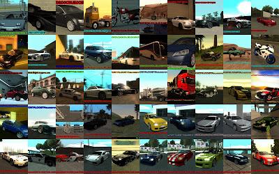 Pacote 50 mods para GTA San Andreas 2ª edição
