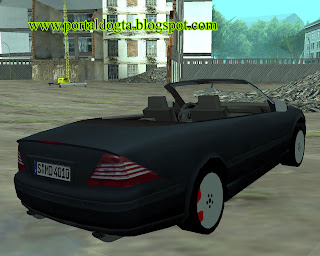 Mercedes Benz CL600 Cabrio