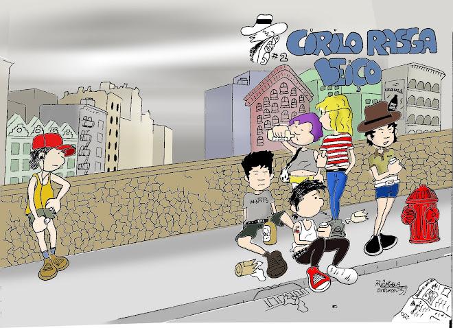 Capa da segunda edição do Cirilex! Quem coloriu foi o Gustavo Arantes, amigo de boêmia.