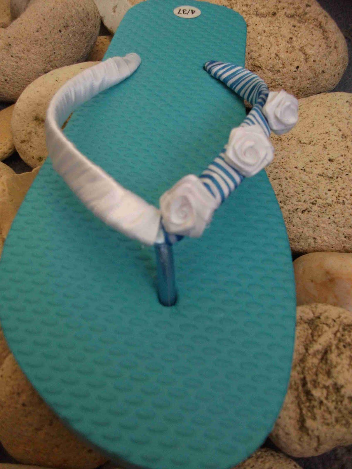 Margarete Arts Amp Crafts Summer Decorated Flip Flops