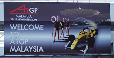 A1GP welcome banner