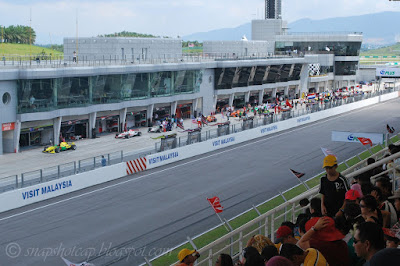 A1GP Race Sepang International Circuit