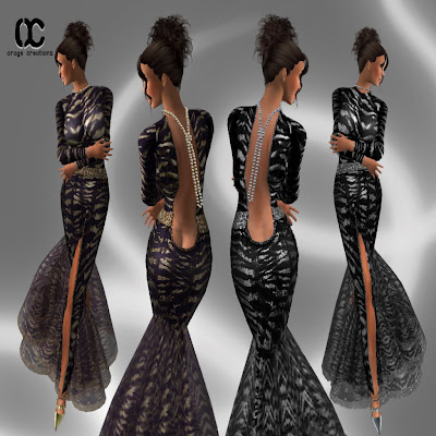 Dress Model Interview on Gausman It S A Sexy Dress With Stunning Textures So Detailed With