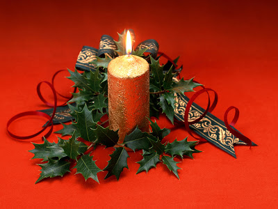 Interior Design and Decorating: Christmas Candle Design