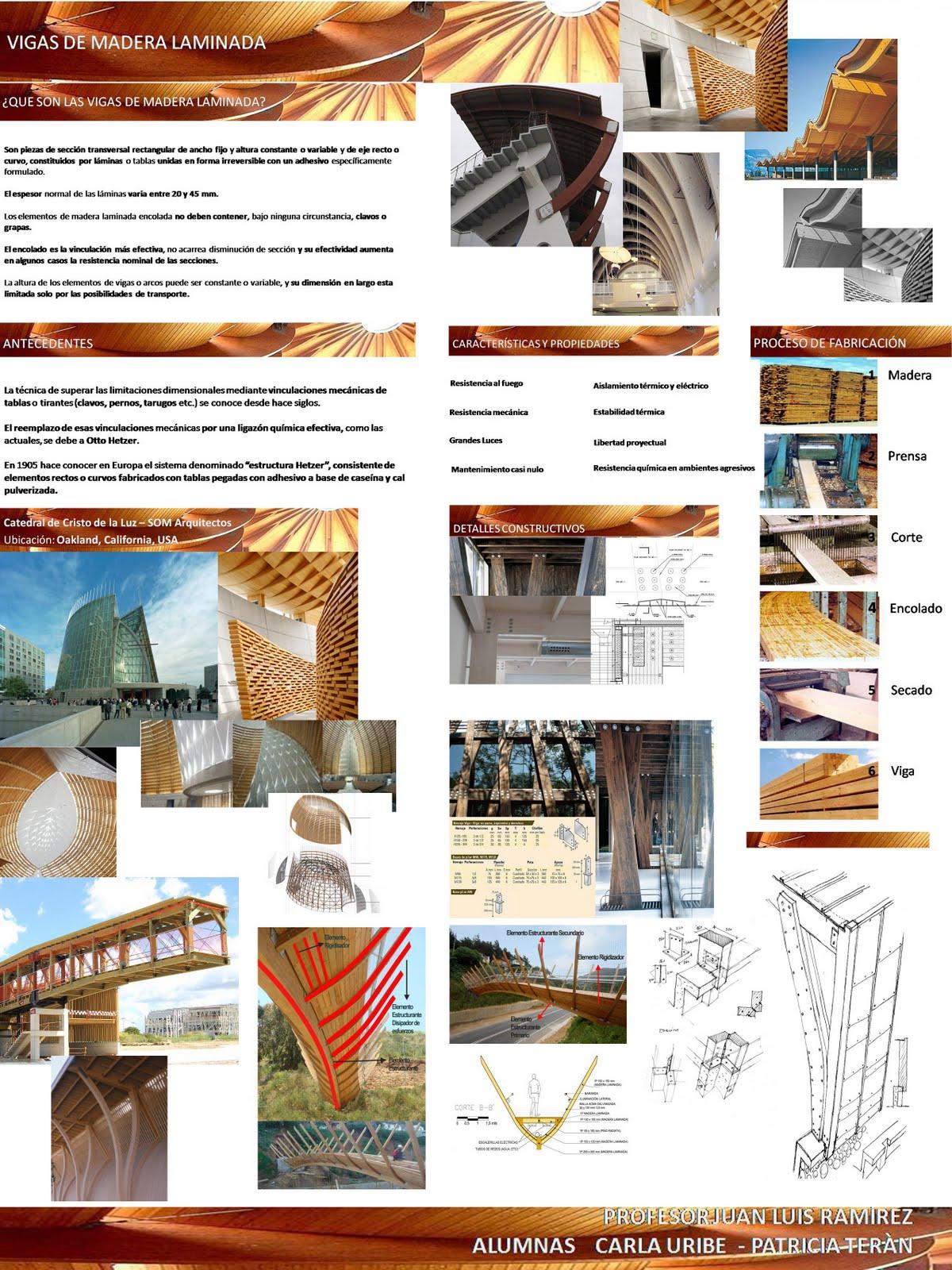 Estructuras iii vigas de madera laminada - Estructuras de madera laminada ...