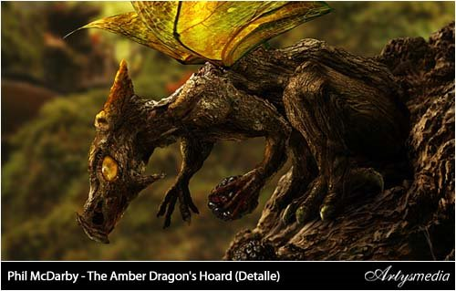 Phil McDarby - The Amber Dragon's Hoard (Detalle)