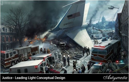 Justice - Leading Light Conceptual Design