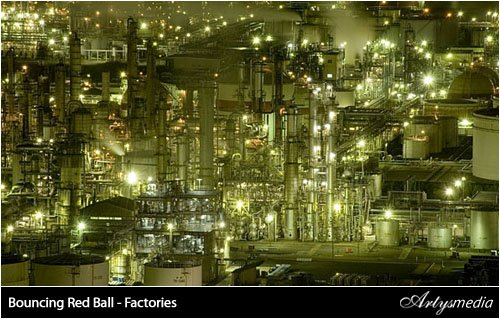 Bouncing Red Ball - Factories