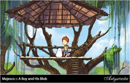 Majesco ::: A Boy and His Blob