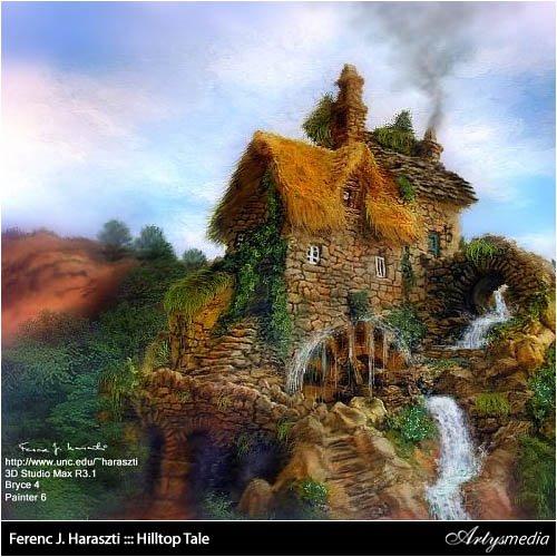 Ferenc J. Haraszti ::: Hilltop Tale