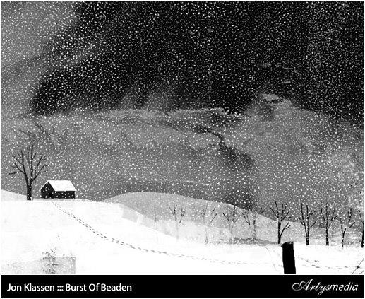Jon Klassen ::: Burst Of Beaden