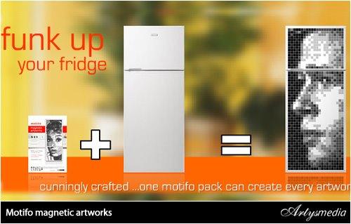 Decorando el frigorífico
