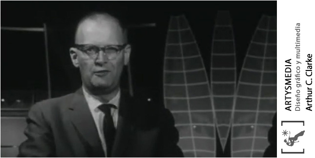 Arthur C Clarke predicting the future in 1964