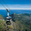 Linbanan upp till Table Mountain