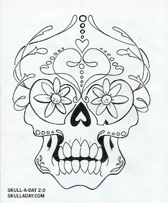 candy skull tattoo. of the Tattoo Contest.
