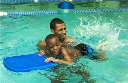 W E A L L B E Too Many African American Children Can T Swim Why