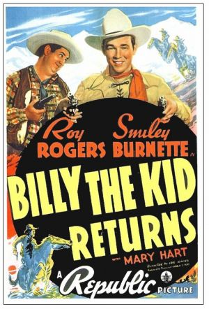 billy the kid grave stone. Movie: Billy the Kid Returns