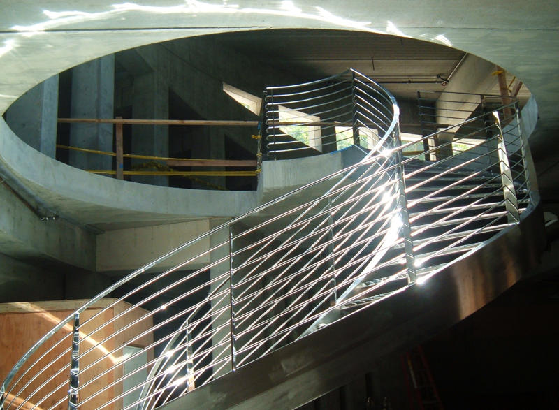 Stainless Steel ,Spiral Staircase