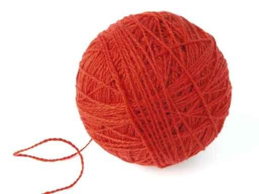 Un gomitolo di lana tutto il mondo di lu for Il gomitolo di camilla