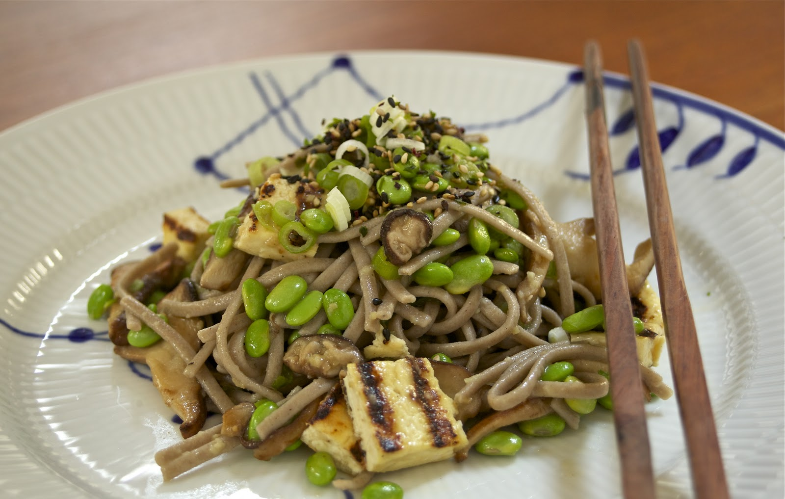 ... life: Lunch/Dinner Recipe 5: Japanese Inspired Soba Noodle Salad
