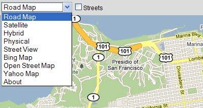 Maps Mania: Google Maps Plus Some on