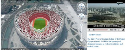 screenshot of Beijing Olympicss Venues Map