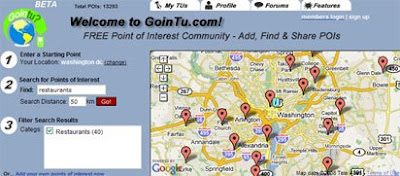 screenshot of Gointu