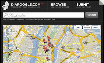 screen shot of Diaroogle