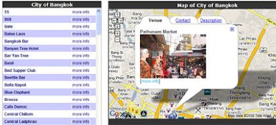 Lost in Bangkok map