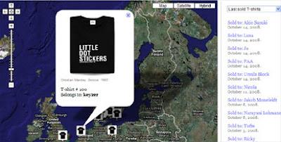 Social Souvenir Map