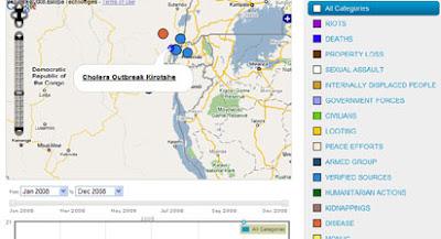 Ushahidi Map