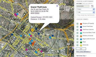 Mapping LA Crime