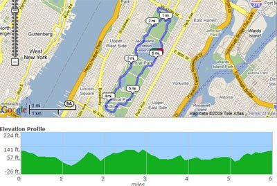 Maps Mania Great American Trails On Google Maps - Measure a running route on google maps