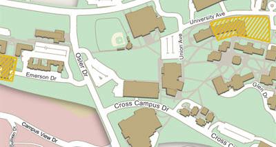 Maps Mania: Google Map of Towson University