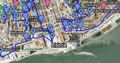 Maps mania the ultimate google maps guide to lisbon in 1925 fernando pessoa the famous portuguese poet wrote a tourist guide about the city of lisbon portugal through his guide he hoped to inform the gumiabroncs Choice Image