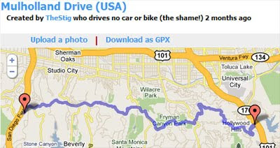 Maps mania the best driving routes on google maps route is a new website designed to help users find and share the best driving routes around the globe route already contains legendary routes from gumiabroncs Gallery