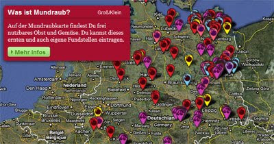 Maps Mania: Finding German Fruit with Google Maps
