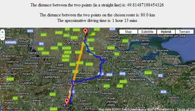 Maps Mania: Measure Distances with Google Maps