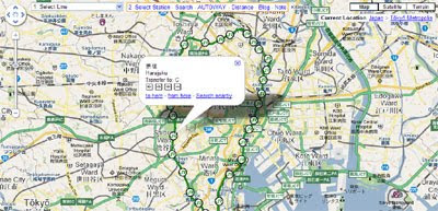 Maps Mania: Japanese Google Maps Mashups Round-up
