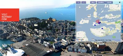 Maps Mania: The Fjords of Norway on Google Maps