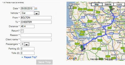 Maps Mania Mileage Expenses With Google Maps