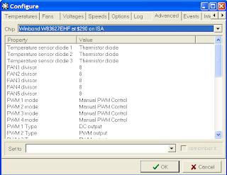 speedf3 Speedfan   Monitorizare hardware si control ventilatoare