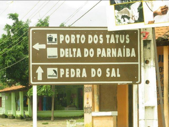 Placa na Ilha Grande de Santa Izabel - IOTA SA 025