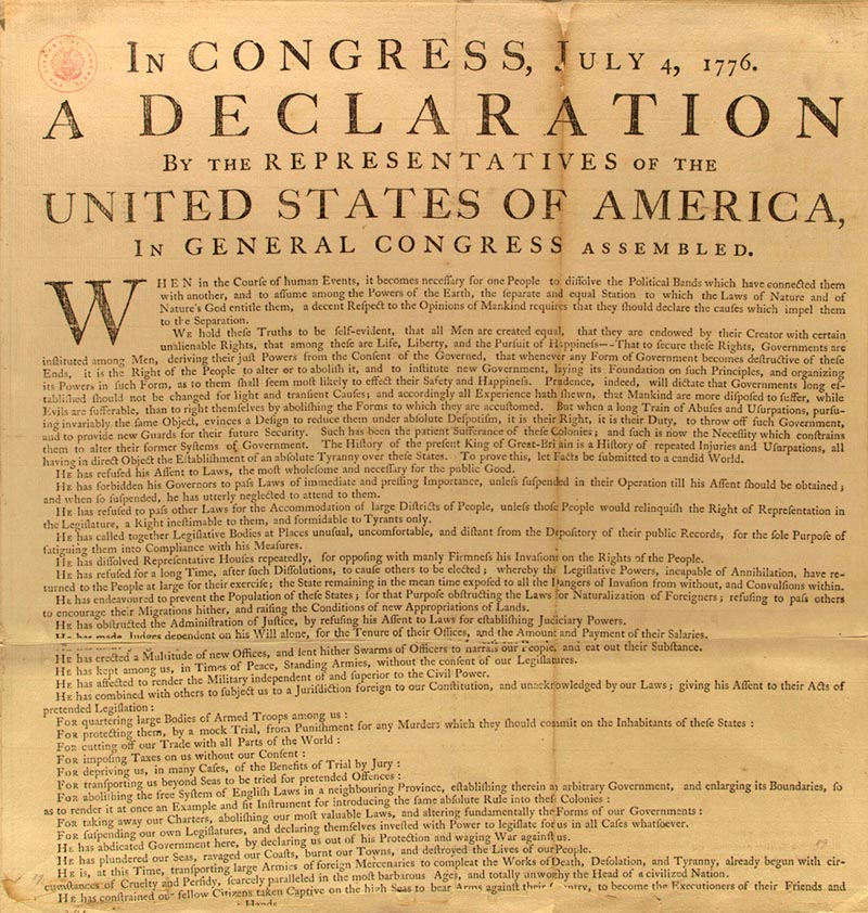 50 essays thomas jefferson the declaration of independence