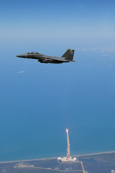 Last Atlantis Launch and an F-15E