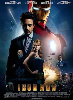 caratulas pelicula Iron Man, portada, cartel, arte de tapa, dvd cover, cine