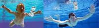 spencer elden bebé álbum Nevermind Nirvana repite 17 años después foto en la piscina