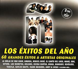 Ñ Los Exitos Del AÑO 2008 EÑE caratulas compilacion, recopilatorio nuevo disco, portada, arte de tapa, cd covers, videoclips, letras de canciones, fotos, biografia, discografia, comentarios, enlaces, melodías para movil