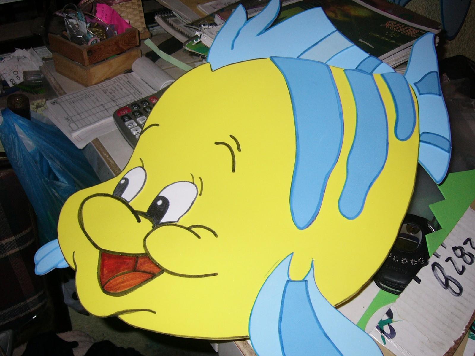 Cómo hacer peces en foami - Imagui